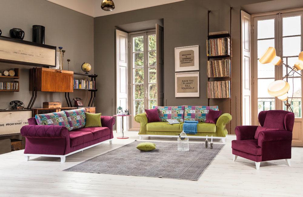 Perla Filiz Sofa Set