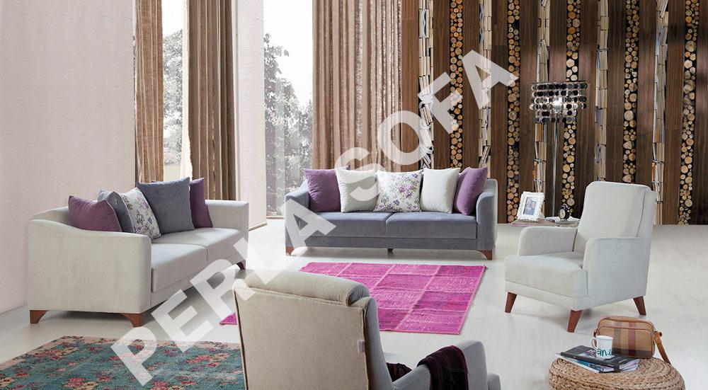 Perla Inci Sofa Set