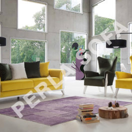 Perla Londra 2 Sofa Set