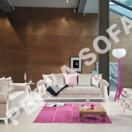Perla Londra 3 Sofa Set