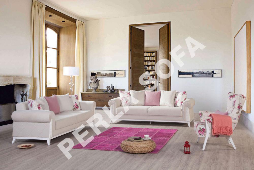 Perla Londra 4 Sofa Set