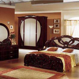 FPM Giada Mahagoni Klassische Schlafzimmer