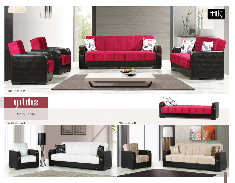 Astra Yildiz Maxi Sofa Set 1