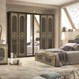 Alice Capitonè Gold Klassische Schlafzimmer