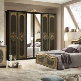 Alice Gold Printed Klassische Schlafzimmer