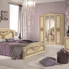 Giulia Beige klassische Schlafzimmer