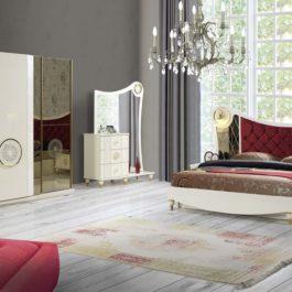 Siptar Golden Schlafzimmer bei Yuvam Möbelhaus in Wuppertal