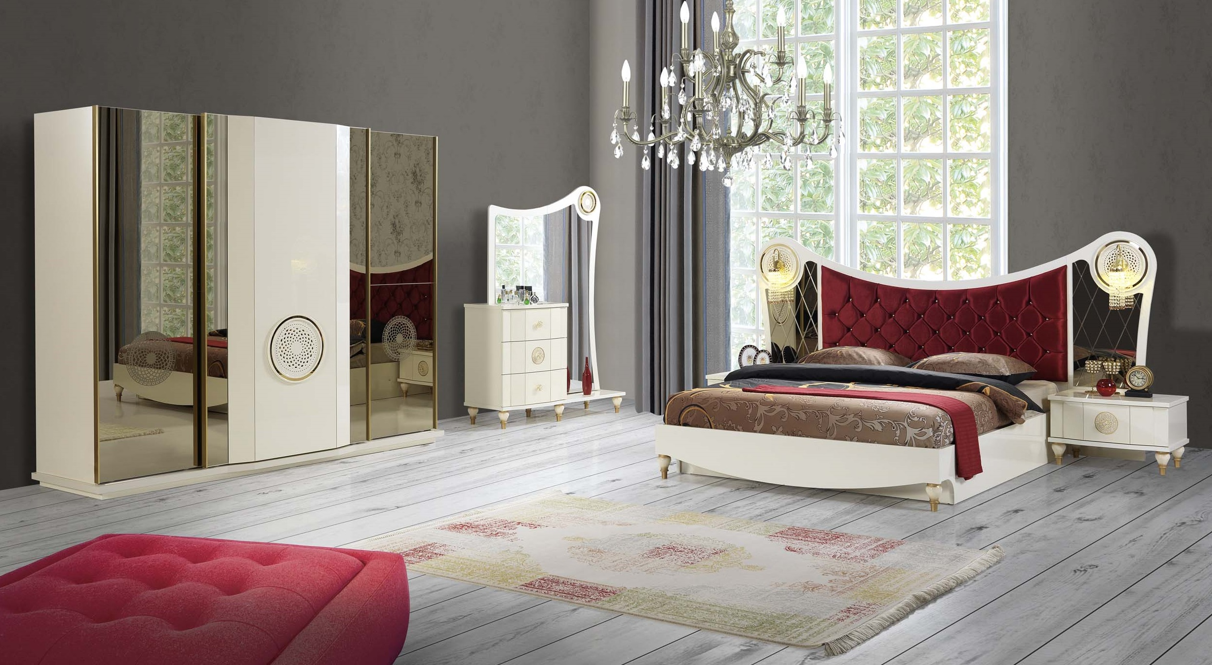 golden schlafzimmer yuvam m belhaus in wuppertal cilek offizieller h ndler in europa. Black Bedroom Furniture Sets. Home Design Ideas