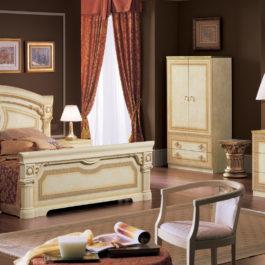 Aida Ivory Gold Schlafzimmer