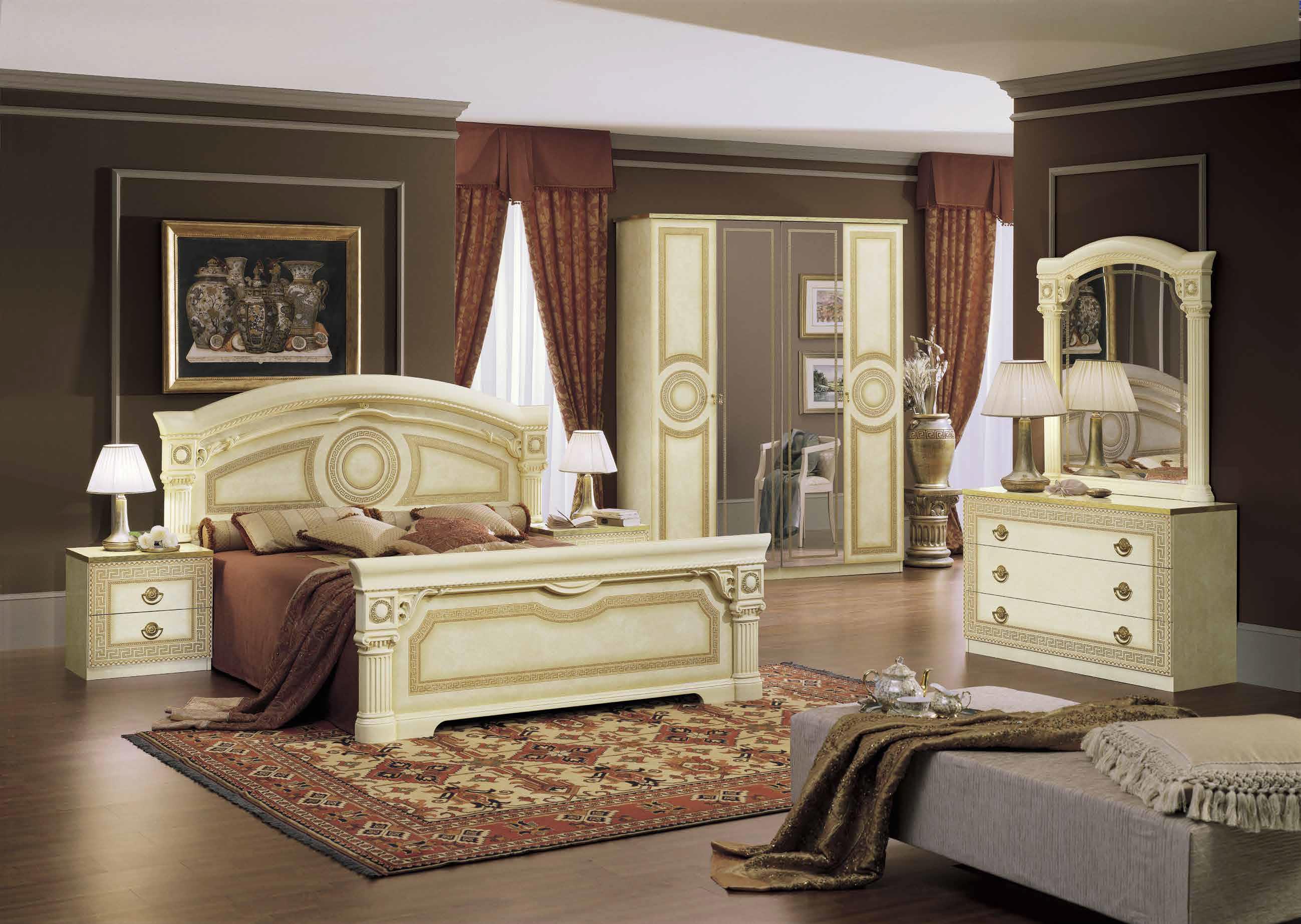 Aida Ivory Gold Schlafzimmer Yuvam Mbelhaus In