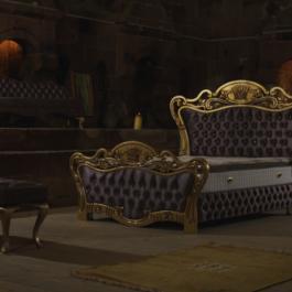 Sleep Royal Sakura Stoff Base Bett Set