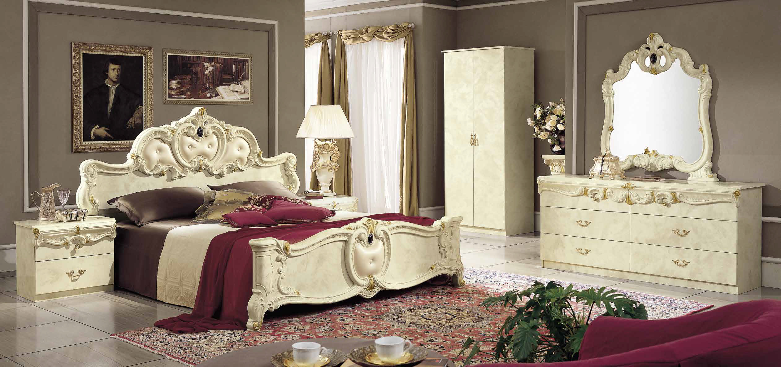barocco ivory schlafzimmer yuvam m belhaus in wuppertal cilek offizieller h ndler in europa. Black Bedroom Furniture Sets. Home Design Ideas