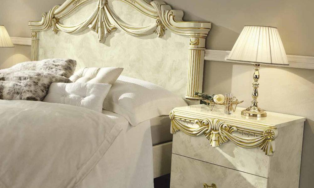 Luxor Ivory-Gold Schlafzimmer – Yuvam Möbelhaus In Wuppertal