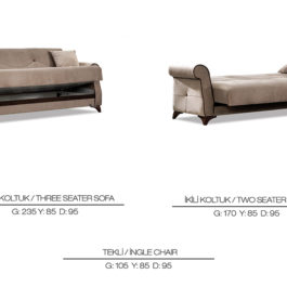 Ada Maxi Sofa Set