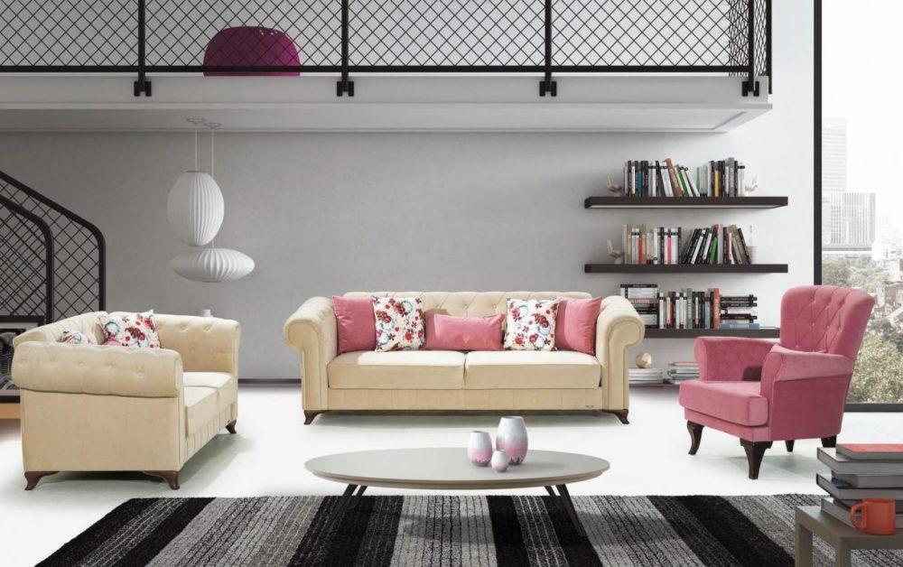Elegand-2 Avangarde Sofa Set 3+2+1