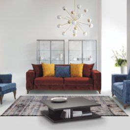 Lens-1 Avangarde Sofa Set 3+2+1