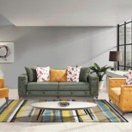 Lens-2 Avangarde Sofa Set 3+2+1