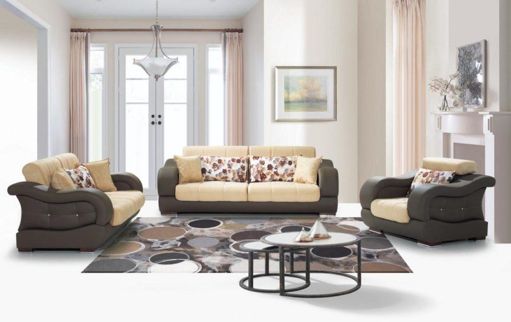 New Truva-1 Sofa Set 3+2+1