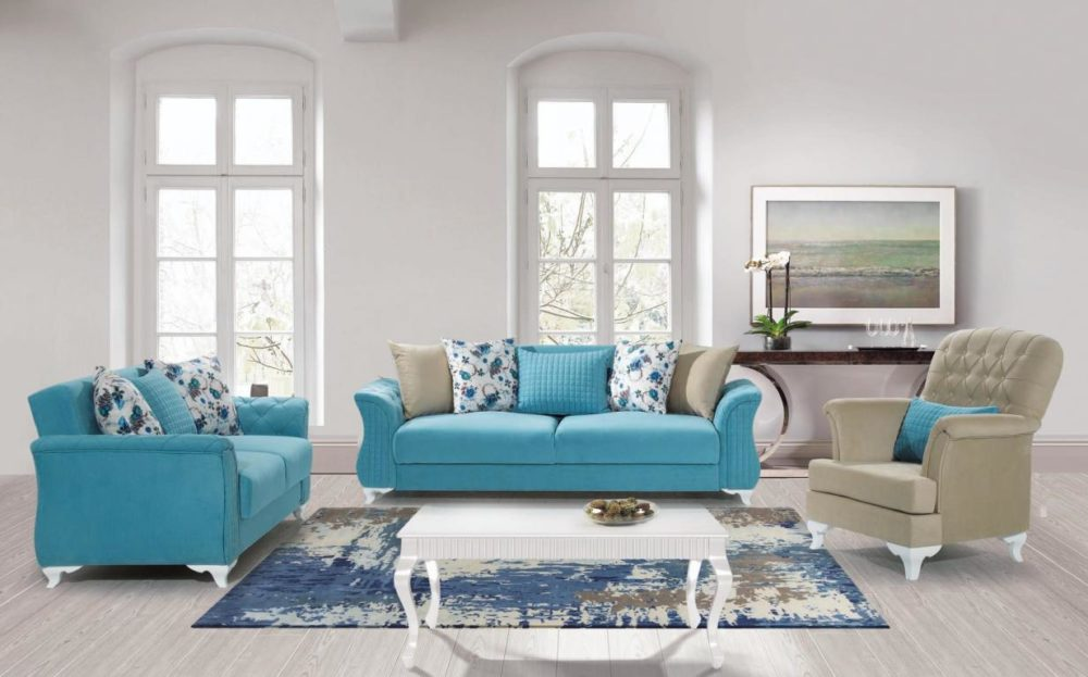 Yonca-1 Sofa Set 3+2+1