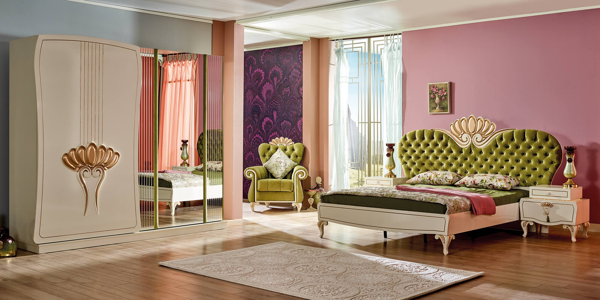 asur schlafzimmer komplett set yuvam m belhaus in. Black Bedroom Furniture Sets. Home Design Ideas
