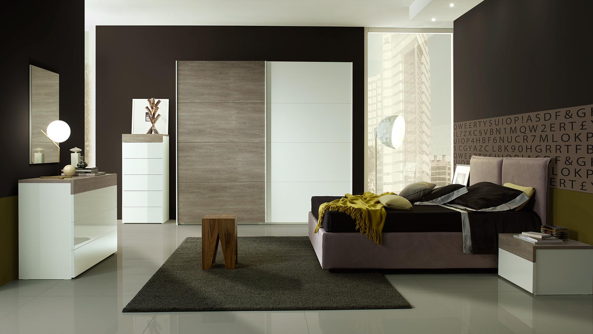 Gessy mit 2-trg Schwebetürenschrank Schlafzimmer – Yuvam Möbelhaus ...