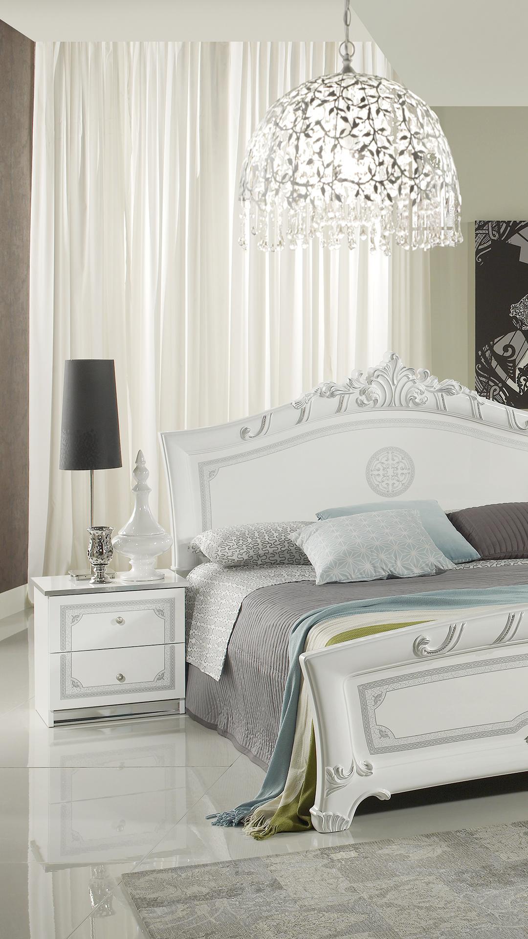 greta weiss mit 6 trg kleiderschrank schlafzimmer yuvam. Black Bedroom Furniture Sets. Home Design Ideas