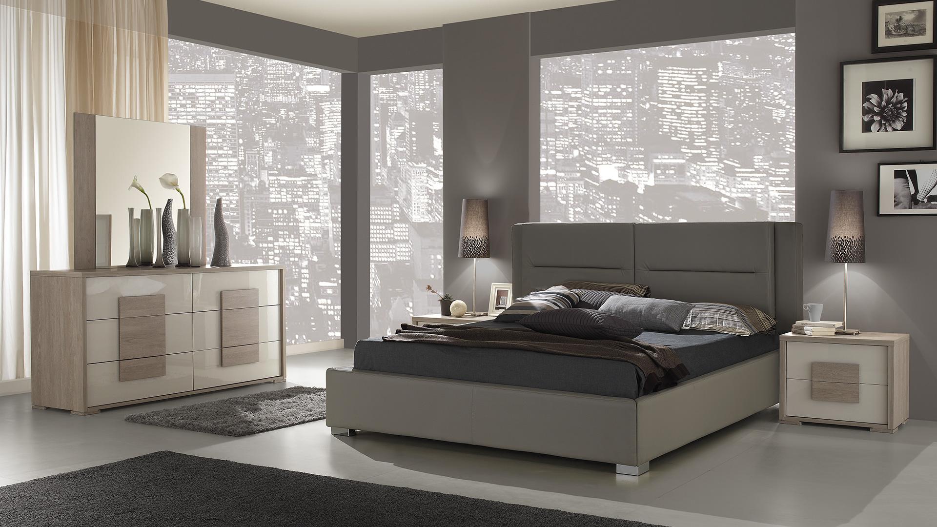 Lia mit 4-trg Kleiderschrank Schlafzimmer – Yuvam Möbelhaus in ...