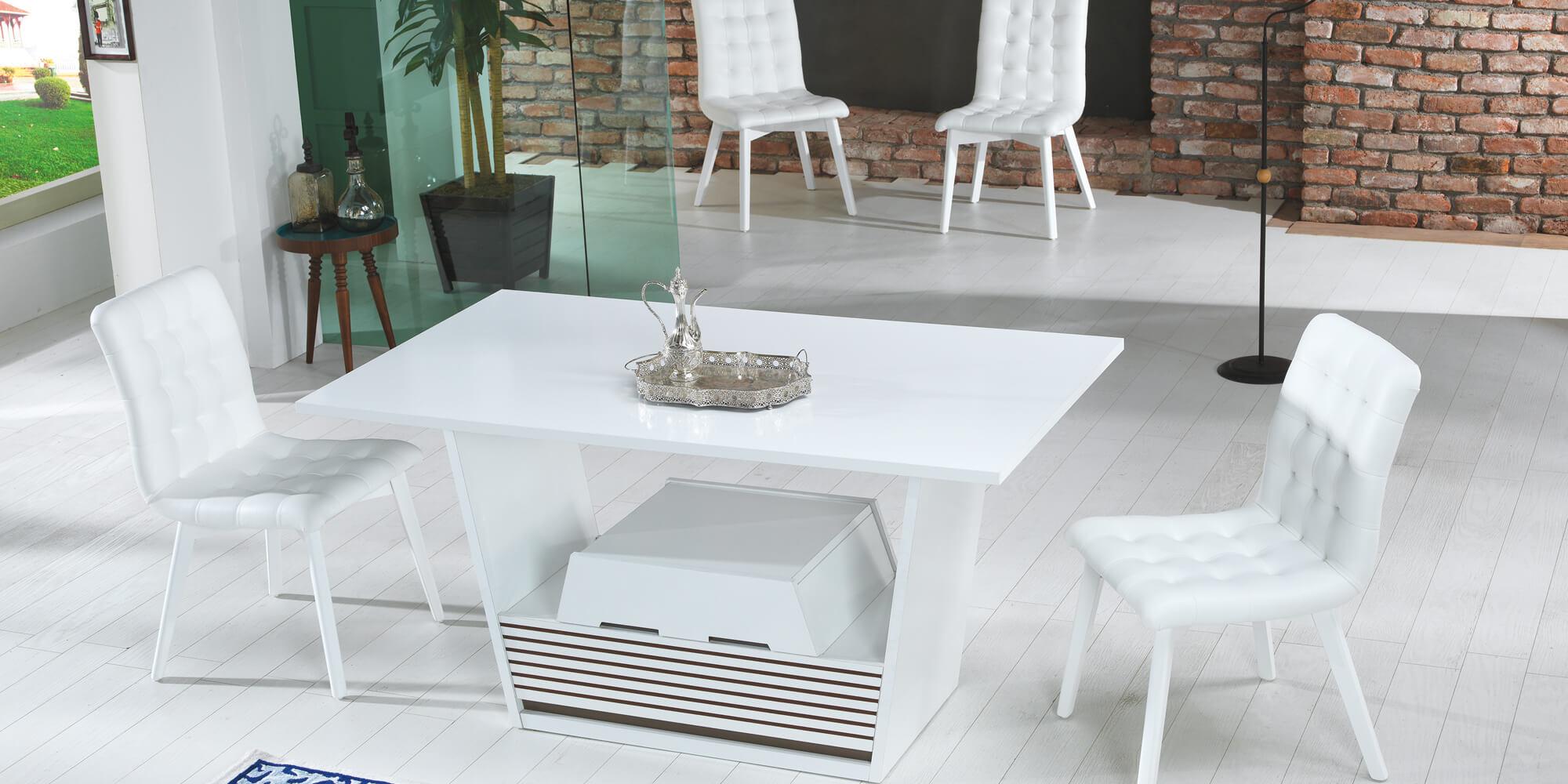 piramit weiss esszimmer set yuvam m belhaus in wuppertal cilek offizieller h ndler in europa. Black Bedroom Furniture Sets. Home Design Ideas