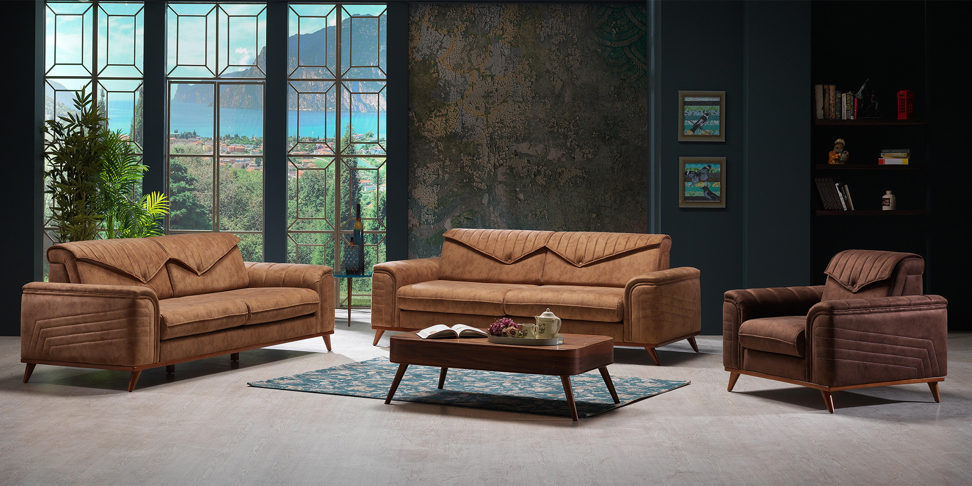 pirizma 3 2 1 sofa set yuvam m belhaus in wuppertal cilek offizieller h ndler in europa. Black Bedroom Furniture Sets. Home Design Ideas