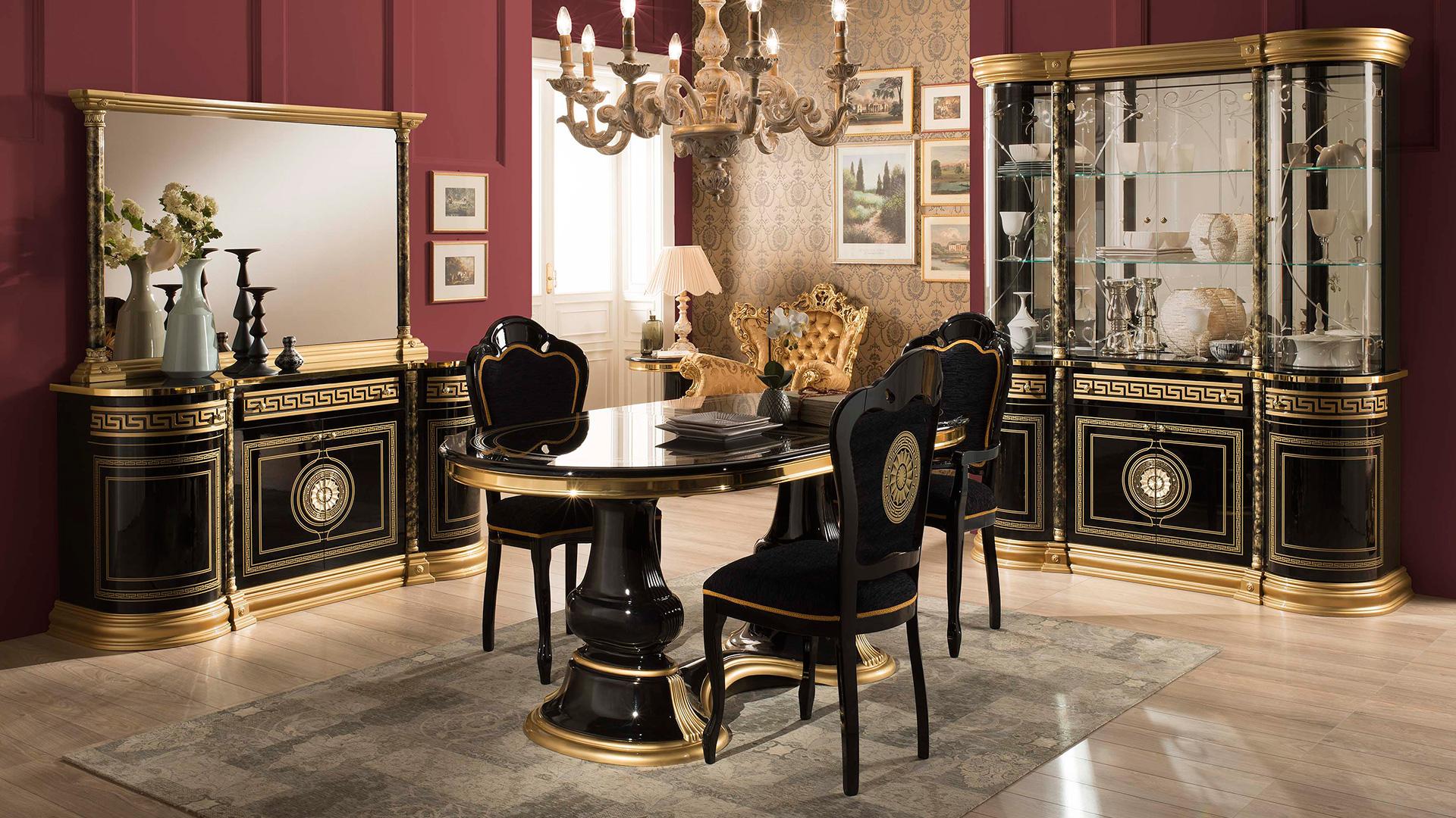 Ven s klassische esszimmer yuvam m belhaus in wuppertal for Italienische esszimmer