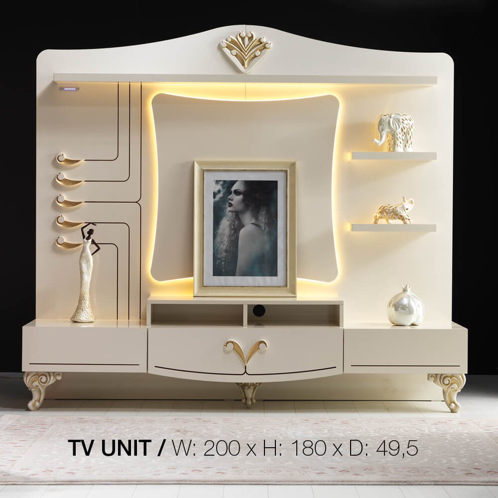 ekru tv konsole yuvam m belhaus in wuppertal cilek offizieller h ndler in europa. Black Bedroom Furniture Sets. Home Design Ideas