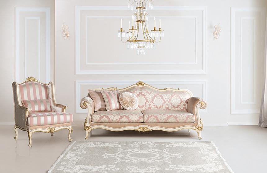 Ciragan 3 2 1 klassische sofa set yuvam m belhaus in - Turkische wohnzimmer gardinen ...