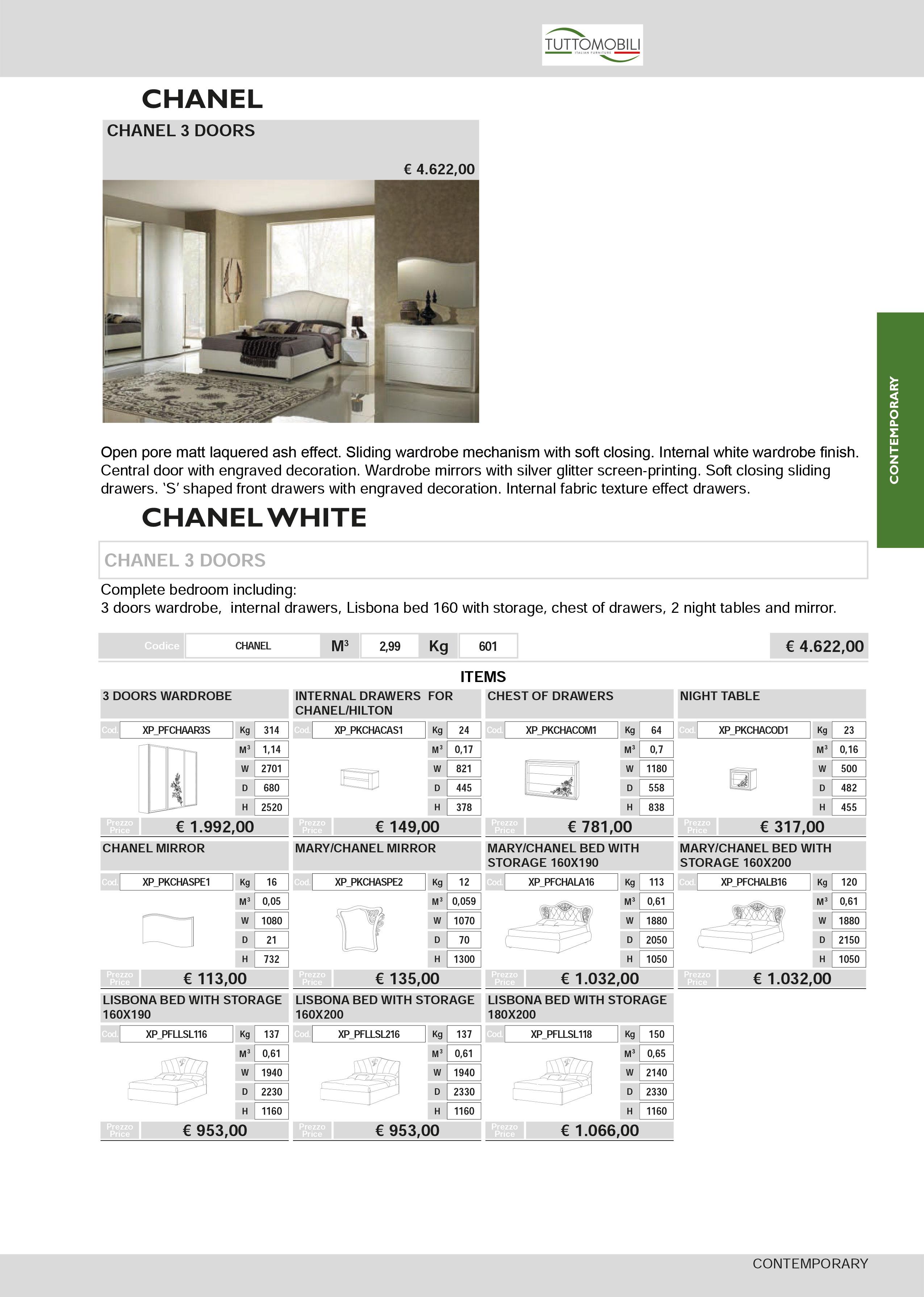 chanel-weiss-schlafzimmer-preis
